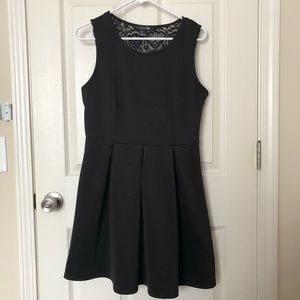 Forever 21 Black Dress w/ Lace Detailing